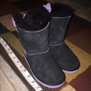 Furry Ugg Boots